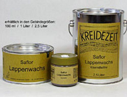 Saflora vasks (Saflor Lappenwachs art.nr. 529-531)